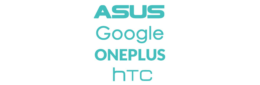 Cover HTC - Asus - Google - OnePlus
